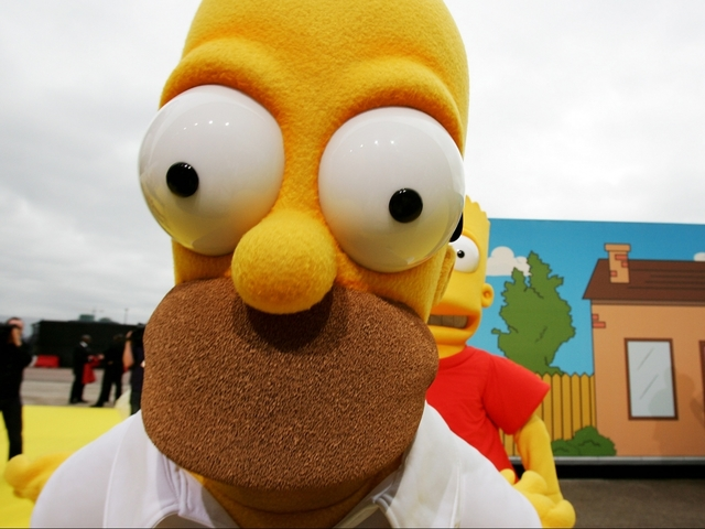Police Pull Over Driver Who Has Fake Homer Simpson License