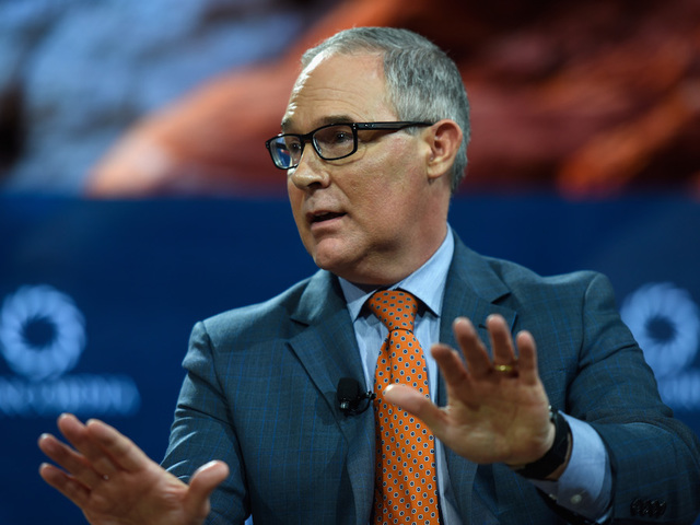 Pruitt's top spokesperson leaving EPA