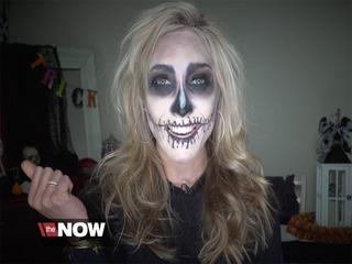 Halloween makeup look for less