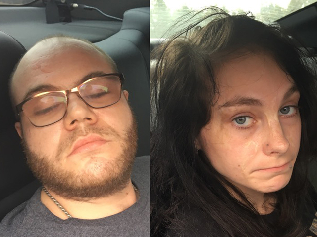 Manhunt underway for mother, boyfriend after girl, 4, burned to death