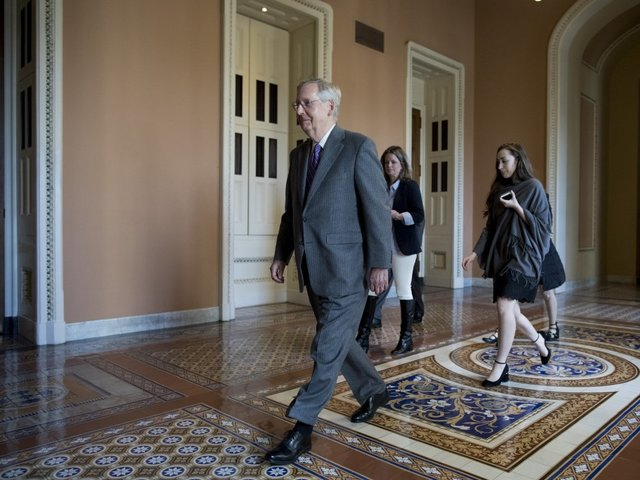 McConnell Sets Deadline for Ending Immigration Talks