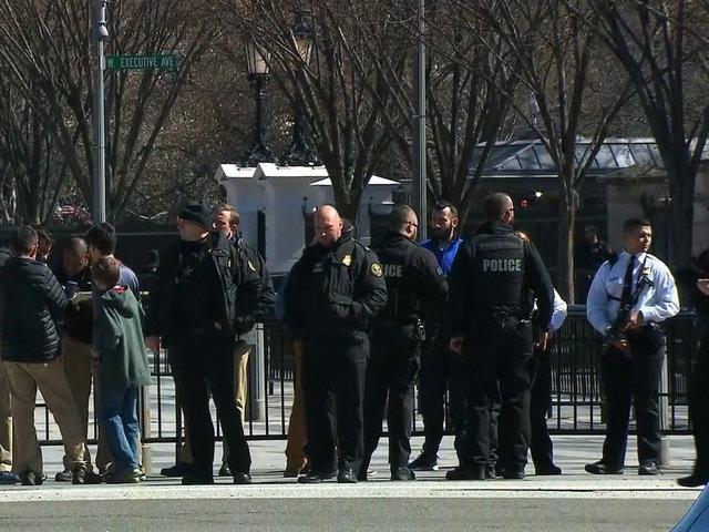 Man shot himself outside White House: Secret Service