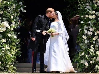 Royal wedding broke with tradition