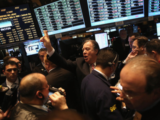 Dow soars 500 points Tuesday