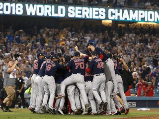 Red Sox beat the Dodgers to win World Series