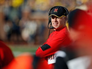 Maryland fires football coach